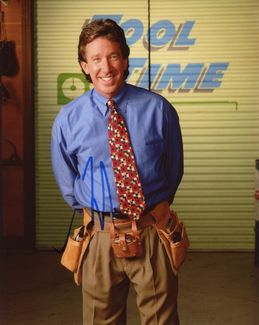 Tim Allen Signed 8x10 Photo