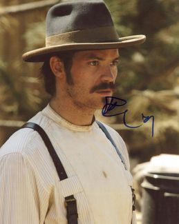 Timothy Olyphant Signed 8x10 Photo - Video Proof
