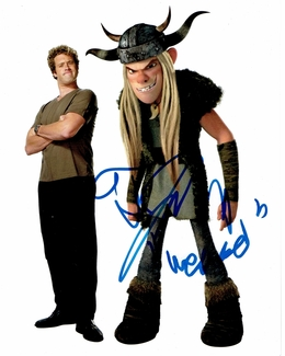T.J. Miller Signed 8x10 Photo - Video Proof