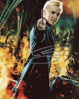 Tom Felton Signed 8x10 Photo