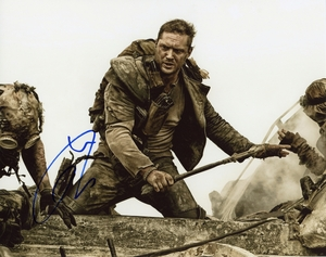 Tom Hardy Signed 8x10 Photo