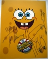 Tom Kenny Signed 11x14 Photo