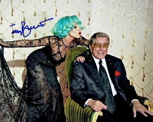 Tony Bennett Signed 8x10 Photo - Video Proof