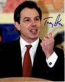 Tony Blair Signed 8x10 Photo