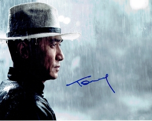 Tony Leung Signed 8x10 Photo - Video Proof