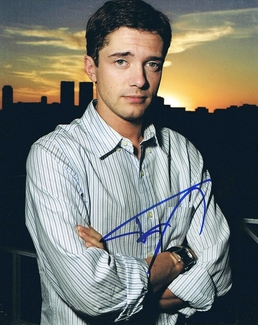 Topher Grace Signed 8x10 Photo - Video Proof