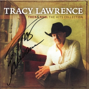 Tracy Lawrence Signed CD Booklet