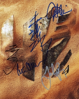 Transformers Signed 8x10 Photo