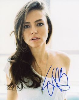 Trieste Kelly Dunn Signed 8x10 Photo