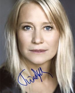 Trine Dyrholm Signed 8x10 Photo