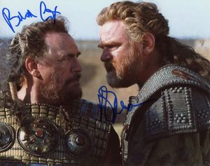 Brian Cox & Brendan Gleeson Signed 8x10 Photo