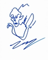 Troy Nixey Signed 8x10 Sketch - Video Proof