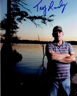 Troy Landry Signed 8x10 Photo