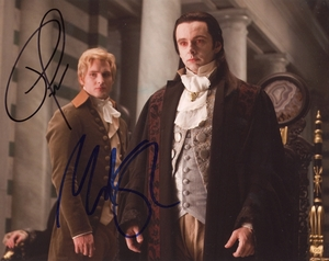 Michael Sheen & Peter Facinelli Signed 8x10 Photo