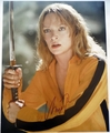 Uma Thurman Signed 11x14 Photo