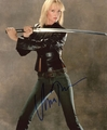 Uma Thurman Signed 8x10 Photo