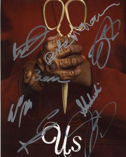 Us Signed 8x10 Photo