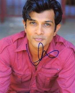 Utkarsh Ambudkar Signed 8x10 Photo - Video Proof
