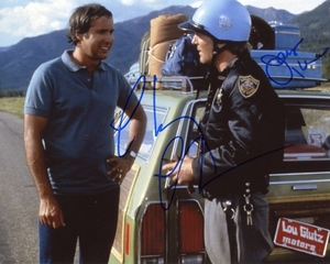 Chevy Chase & James Keach Signed 8x10 Photo - Video Proof