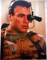 Jean-Claude Van Damme Signed 12x16 Photo