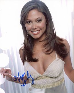 Vanessa Lachey Signed 8x10 Photo