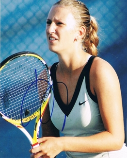 Victoria Azarenka Signed 8x10 Photo