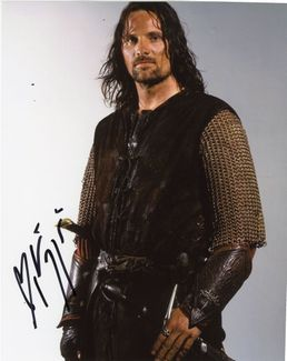 Viggo Mortensen Signed 8x10 Photo - Video Proof