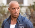 Vin Diesel Signed 8x10 Photo