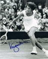 Virginia Wade Signed 8x10 Photo