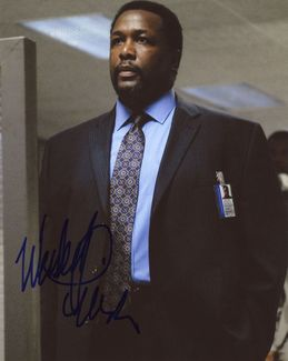 Wendell Pierce Signed 8x10 Photo - Video Proof