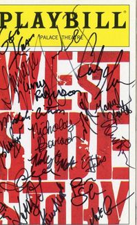 West Side Story Signed Playbill