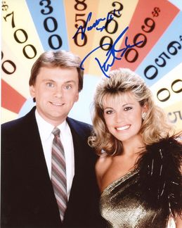 Pat Sajak & Vanna White Signed 8x10 Photo - Video Proof