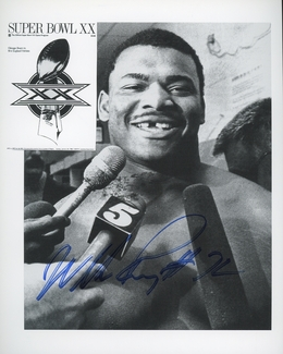 "William ""The Refrigerator"" Perry Signed 8x10 Photo"