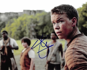 Will Poulter Signed 8x10 Photo