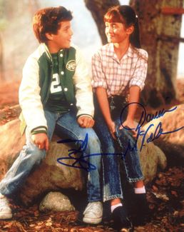 Fred Savage & Danica McKellar Signed 8x10 Photo