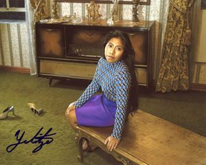 Yalitza Aparicio Signed 8x10 Photo - Video Proof