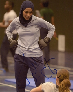 Yasmine Al Massri Signed 8x10 Photo - Video Proof