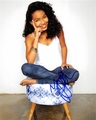 Yara Shahidi Signed 8x10 Photo