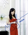 Yunjin Kim Signed 8x10 Photo