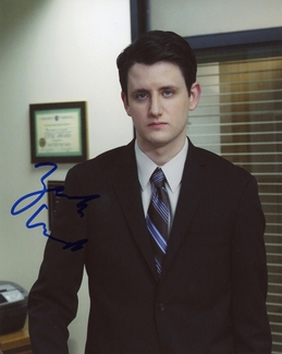Zach Woods Signed 8x10 Photo - Video Proof