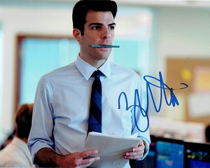 Zachary Quinto Signed 8x10 Photo
