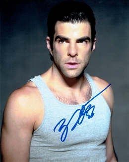 Zachary Quinto Signed 8x10 Photo - Video Proof