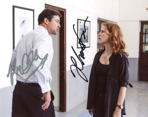 Jessica Chastain & Kyle Chandler Signed 8x10 Photo - Video Proof
