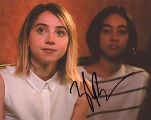 Zoe Kazan Signed 8x10 Photo - Video Proof