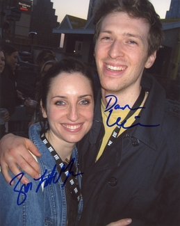 Zoe Lister-Jones & Daryl Wein Signed 8x10 Photo - Video Proof