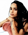 Zoe Kravitz Signed 8x10 Photo