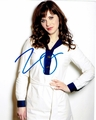 Zooey Deschanel Signed 8x10 Photo
