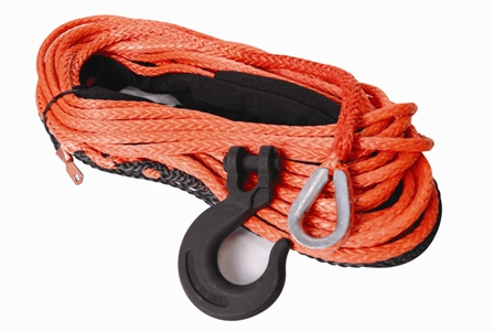 19-52038-100 Synthetic Rope, 3/8� X 100� Assembly (16,200 lbs. Min Break Force)
