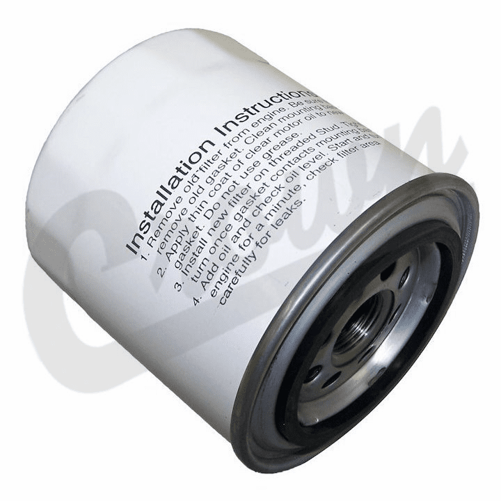 8993146 Engine Oil Filter for 1973-1982 Jeep Grand Wagoneer, Cherokee SJ & J-Series Truck  w/ 4.2L, 5.9L Engine