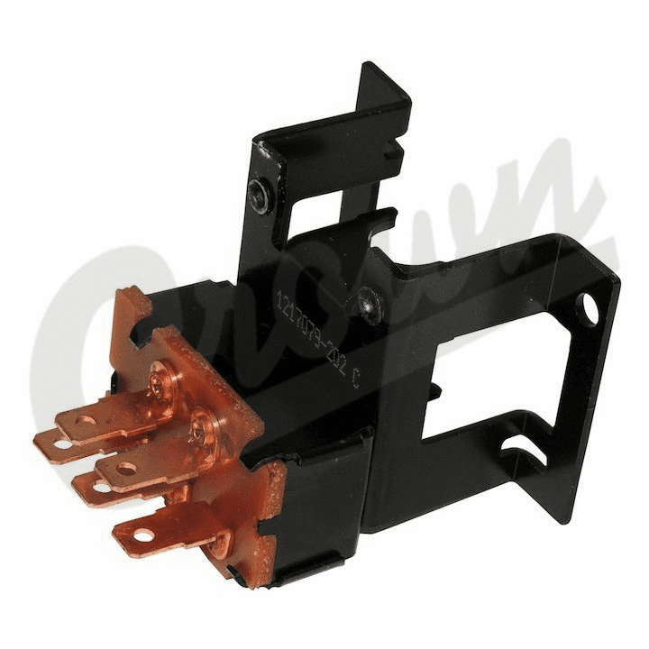 83502719 Blower Motor Switch for 1974-1977 Cherokee, Wagoneer, J10, J20 without Factory Air